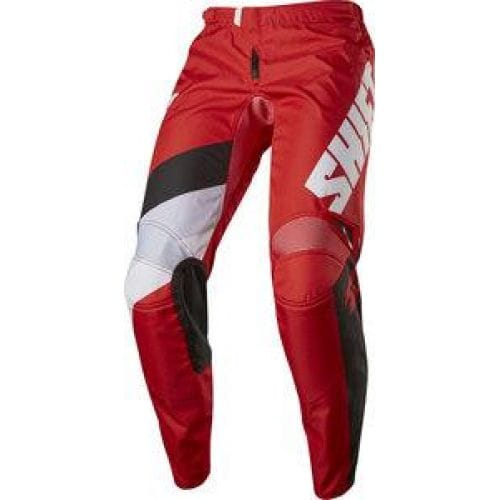 Shift  WHIT3 TARMAC PANT -17113 Red