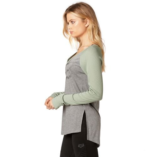 FOX  CERTAIN LS TOP [HTR GRY]