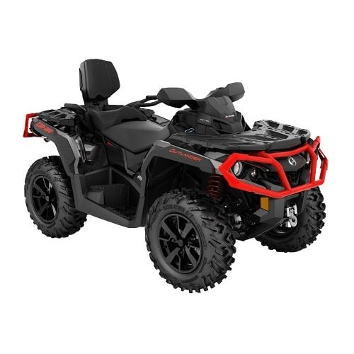 Can-Am Outlander MAX XT 650 Can-Am Red - Black '19